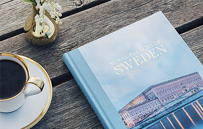 Omslag Royal Palaces of Sweden – People and stories