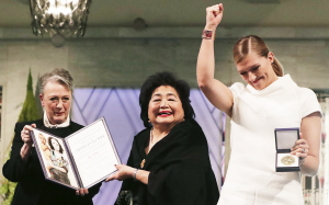 Beatrice Finh, Nobelpristagare 2017