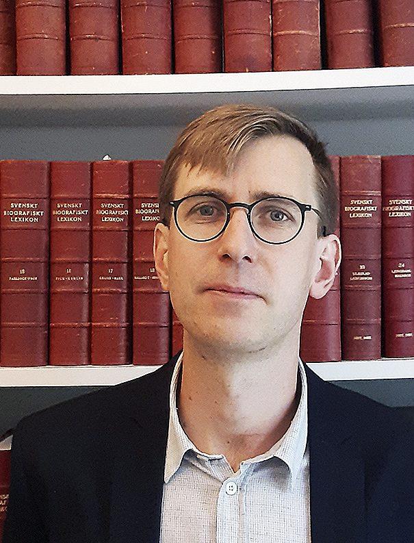 Christopher Pihl Forskare i historia, Uppsala universitet.