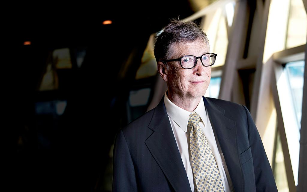 Bill Gates porträtt