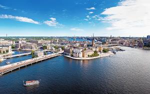 Vy över Stockholm