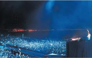 """Tim """"Avicii"""" Bergling på scen"""