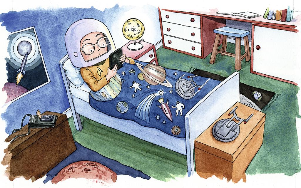 Tecknad illustration