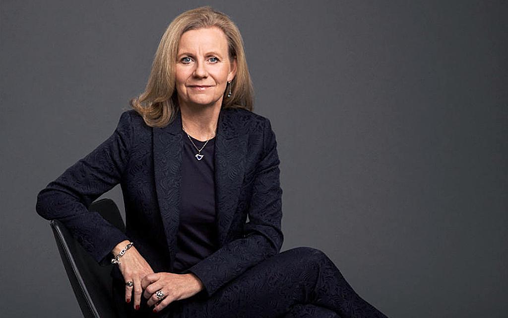 Porträtt av Microsoft Sveriges vd Hélène Barnekow