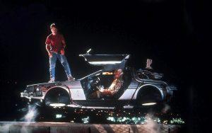 Flygande bil i filmen Tillbaka från framtiden
